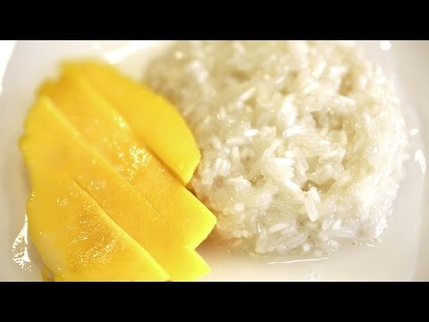 SWEET STICKY RICE WITH MANGO! (Khao Niao Mamuang)