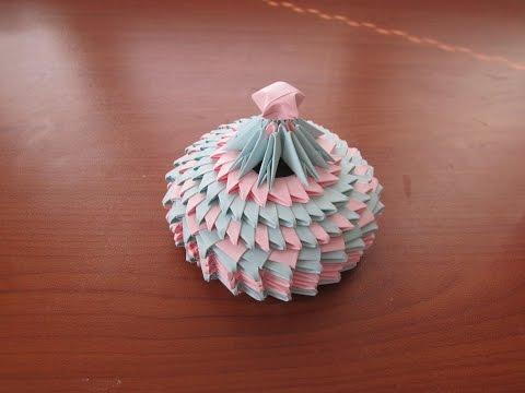3D Origami Small Jewellery Box Tutorial #2