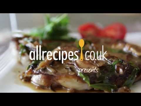 Steak with mushroom sauce recipe video