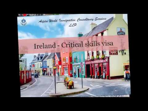 Ireland Critical Skills Visa | Aspire World Immigration Consultancy Services LLP