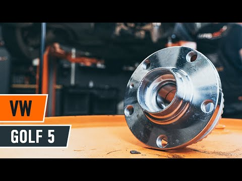 How to replace rear wheel bearing VW GOLF 5 TUTORIAL | AUTODOC