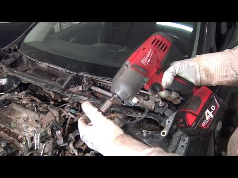 How to replace Windshield wipers Motor Toyota Corolla. Years 2007 to 2018