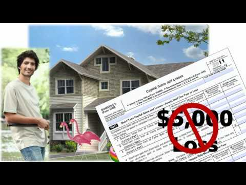 How to report an inherited home on your tax return.