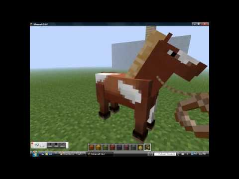 flying horses in minecraft 1.6 and 1.6.2 ???
