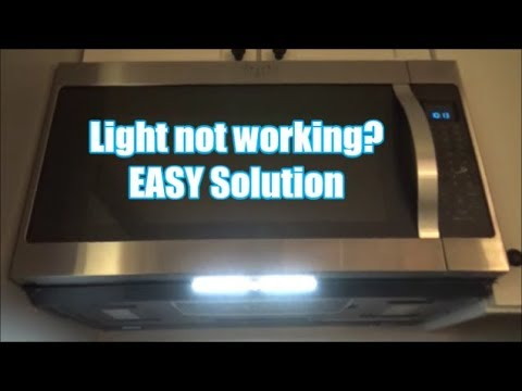 Microwave Light Not Working? EASY Solution