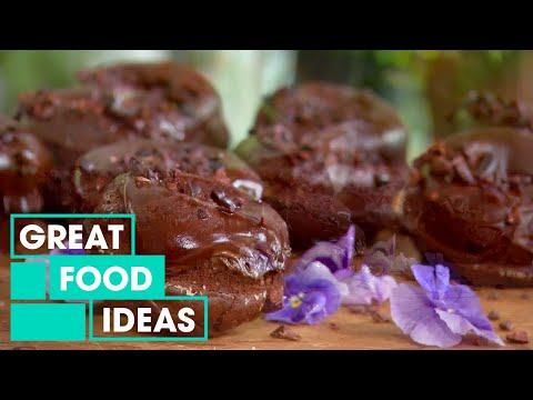 How To Make Amazing Chocolate Beetroot Donuts | Food | Great Home Ideas