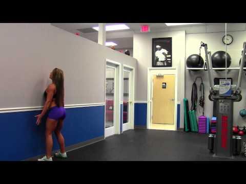 Wall Squats with Sarah Grace