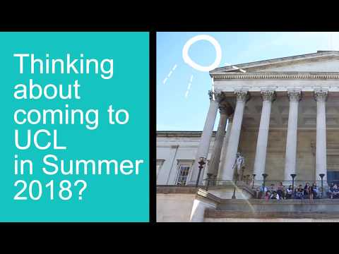 What happens at the UCL Summer School?