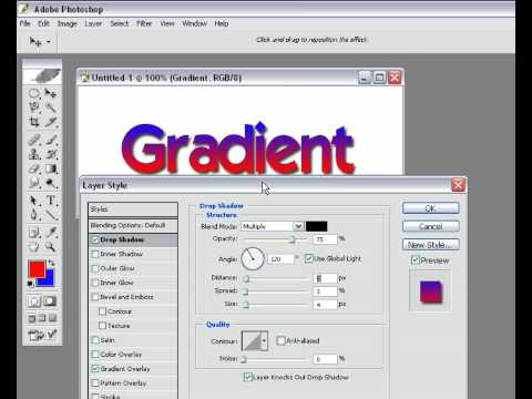 Gradient Text Photoshop Tutorial