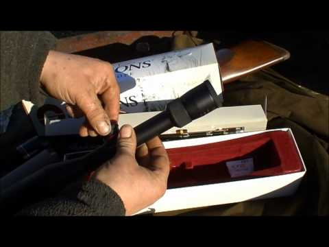 Simmons  AETEC model 512101 2.8-10x44 master series rifle scope