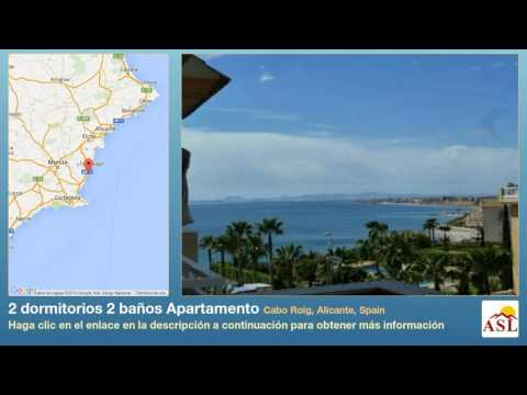 2 dormitorios 2 baños Apartamento se Vende en Cabo Roig, Alicante, Spain