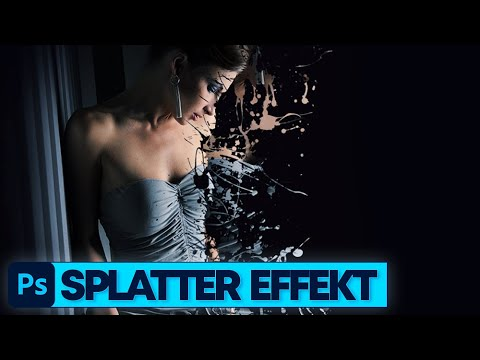 Photoshop Tutorial: Splatter Effekt (Deutsch)