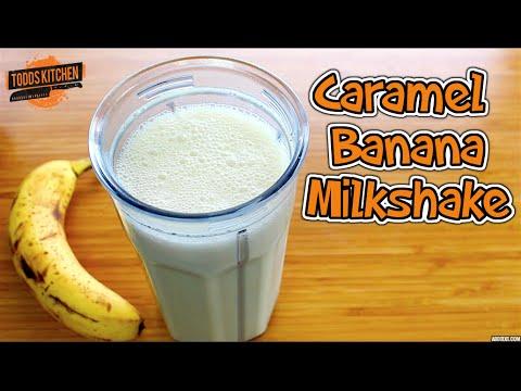 Caramel Banana Milkshake Recipe