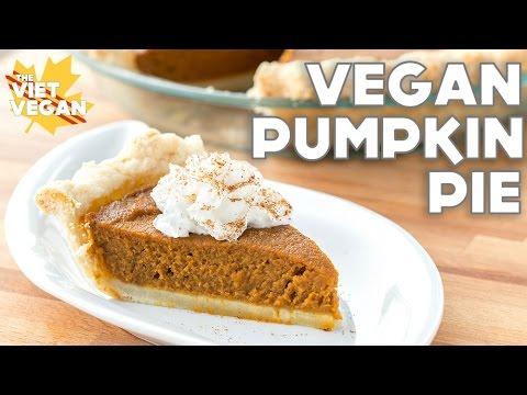 Vegan Pumpkin Pie | The Viet Vegan