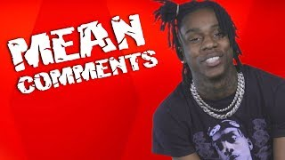 Polo G Reads Mean Comments