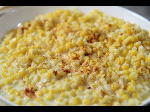 Creamed Corn cooked by Julie episode 365