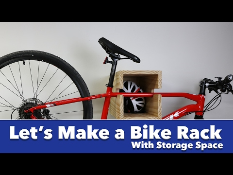 Let's Make a Shelf That Doubles as a Bike Rack