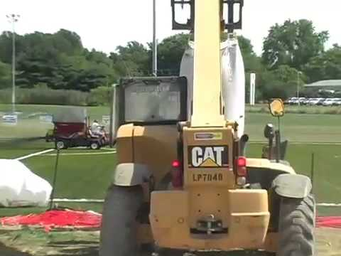 Building an artificial turf field for soccer