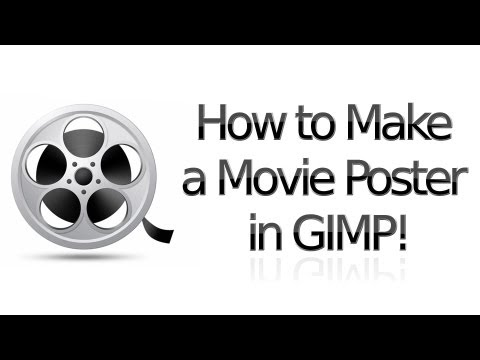 How to Make a Professional Movie Poster in Gimp 2.6