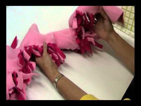 No Sew Minky or Fleece Blanket | Beverly's How-To