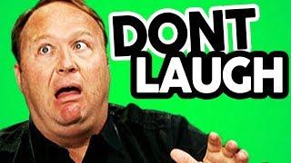 You Laugh, YOU LOSE Challenge (ft Alex Jones)