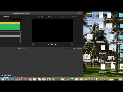 GarageBand to iMovie