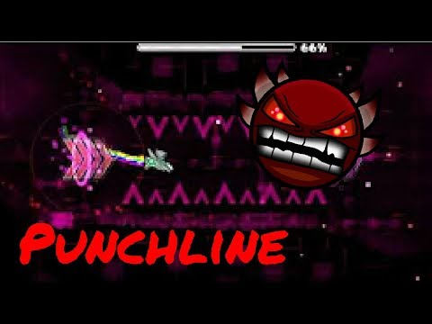 Punchline by Shuffle49 (geometry dash 2.1) (easy demon)