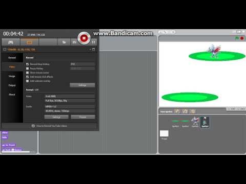How to make a Scratch Pokemon game
