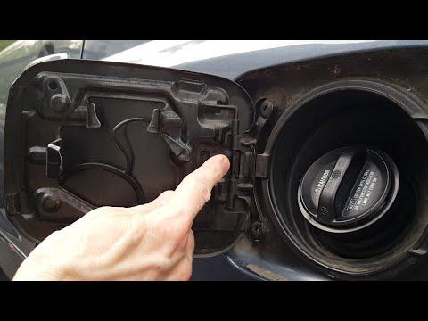 DIY Fix Toyota Fuel Door Spring