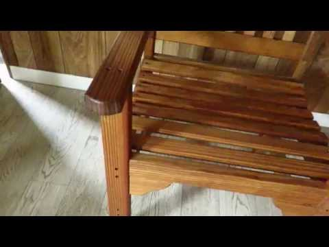 Pine English Garden Chair at DutchCrafters