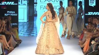 Tamanna Bhatia Walks The Ramp @ Lakme Fashion Week