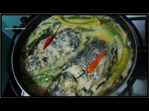 GINATAANG TILAPIA   - (Pinas Kitchen) 2013