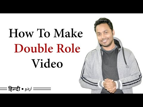 How To Make A Double Role Character - Clone Yourself | Billi4You