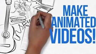 HOW TO MAKE ANIMATED VIDEOS LIKE ME!!