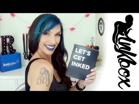 InkBox 2 Week Temporary Tattoo Review, Demo, and What NOT To Do!