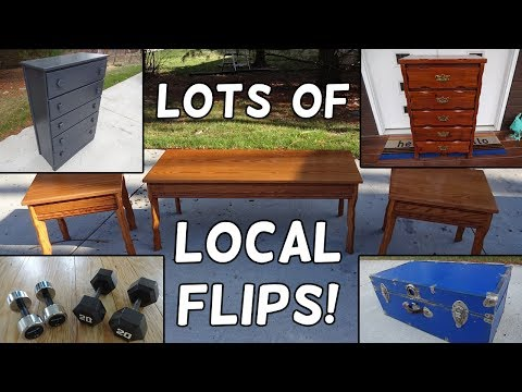 Lots of Craigslist & FB Marketplace Local Flips This Week! - Flips & Finds #23