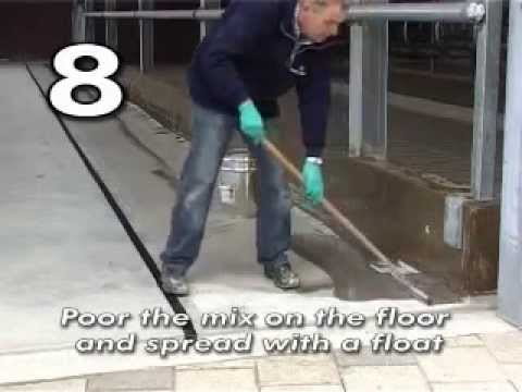 How to apply Self leveling compound - MS Schippers archive