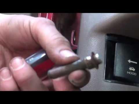 Replacing Door Hinge Pin