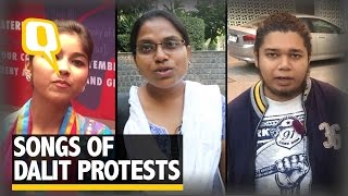The Quint: The Quint: Songs of Dalit Protest: Sheetal Sathe, Ginni Mahi & Sujat Ambedkar