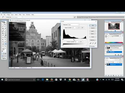 Photoshop CS2 Simple tutorial on black and white