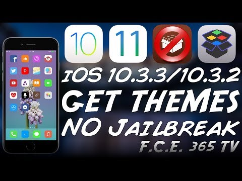 iOS 10.3.3, iOS 10.3.2 How to Install Themes Without Jailbreak