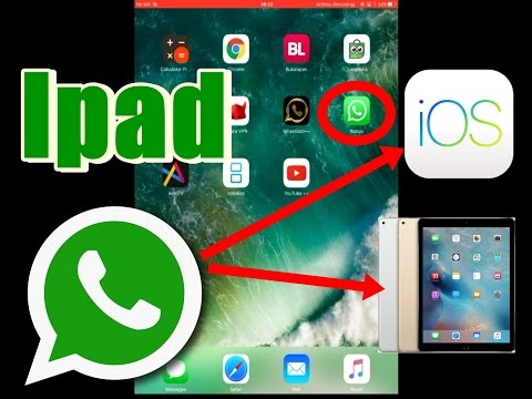 CARA INSTAL Whatsapp on Ipad - No Jailbreak