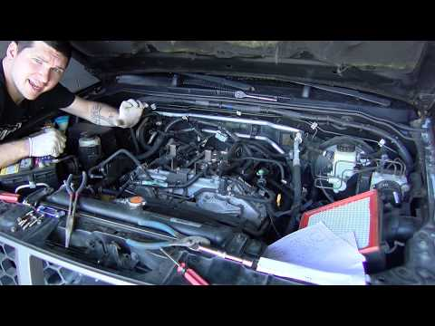 Replacing Valve Cover Gaskets on a Nissan