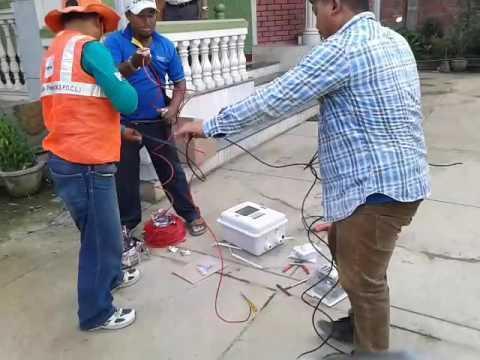 prepaid metre installed twba