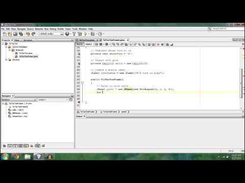 - Make a Tic-Tac-Toe Game! - [Java] Programming Tutorial (Beginner) : Part 1/2