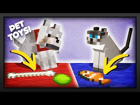 Minecraft - How To Make Pet Toys