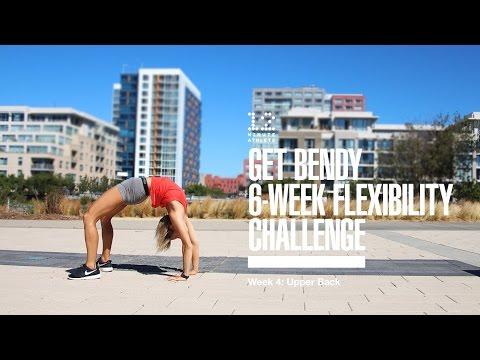 Get Bendy 6 Week Flexibility Challenge - Week 4: Upper Back
