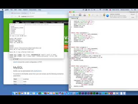 MySQL - Command Line Client- Import database tables from sql file (Mac OS X)