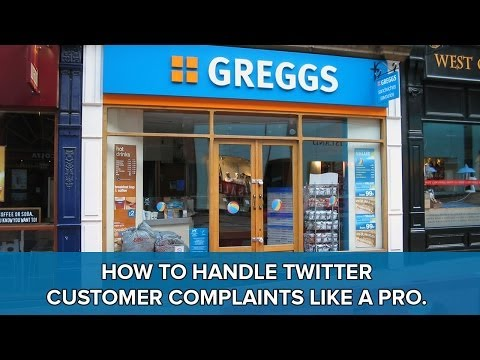 How to Handle Customer Complaints on Twitter Like A Pro (Greggs the Baker Case Study)