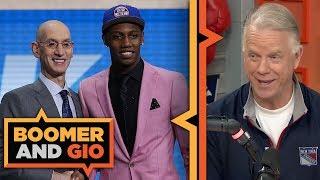 Knicks got it RIGHT taking RJ Barrett with No. 3 pick in NBA Draft | Boomer & Gio